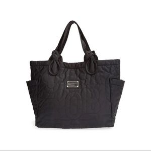 Marc Jacobs Nylon Tate Tote Bag Black